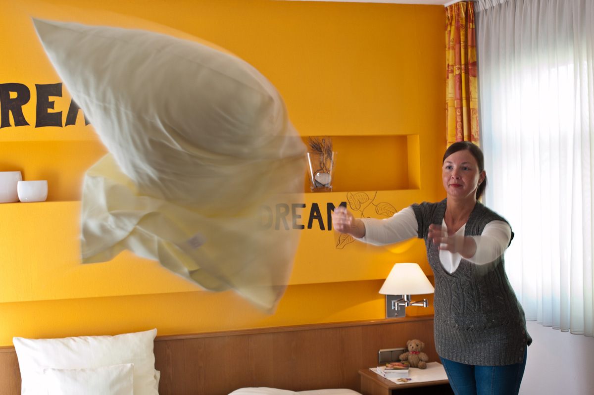 Hotel Kissen
