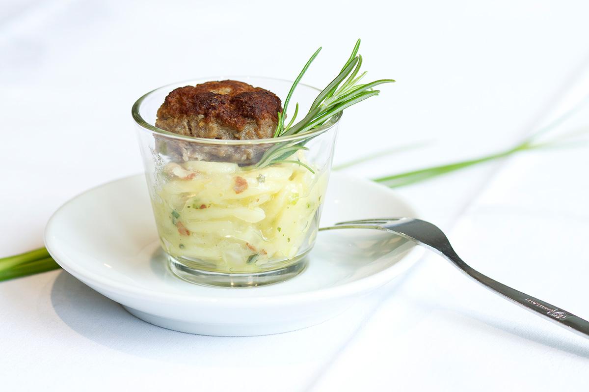Frühstücksmeisterei Kartoffelsalat im Glas
