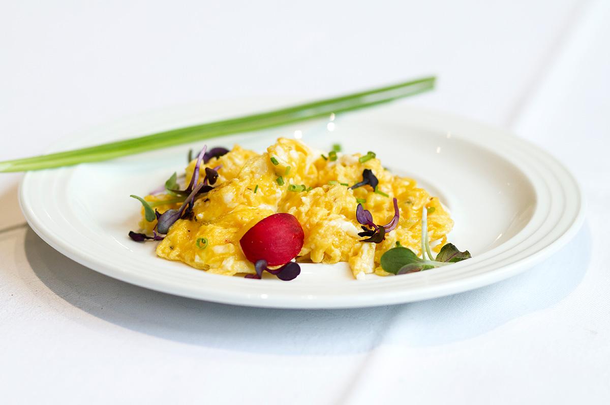 Frühstücksmeisterei Rührei